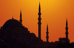 Istanbul sunset Stock Photo