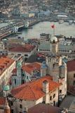 Istanbul Sunset Panorama Royalty Free Stock Photo