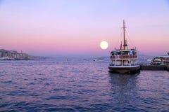Istanbul sunset Royalty Free Stock Photo