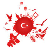 istanbul symbol Arkivbild
