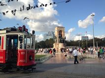 istanbul taksim royaltyfria bilder