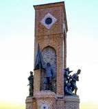Istanbul Taksim, Republic Monument Royalty Free Stock Image