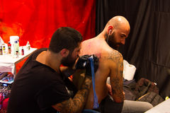 Istanbul Tattoo Convention Royalty Free Stock Photography