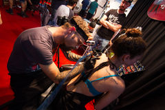 Istanbul Tattoo Convention Royalty Free Stock Image