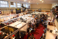 Istanbul Tattoo Convention Stock Photo