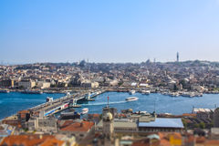 Istanbul Tiltshift Stock Images