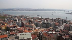 Istanbul top view Royalty Free Stock Image
