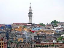 istanbul townscape Fotografering för Bildbyråer