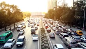 Istanbul Traffic Timelapse. Timelapse  of traffic in Istanbul stock video