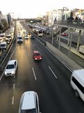 Istanbul traffic royalty free stock photos