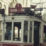 Istanbul tram Royalty Free Stock Photos