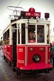 Istanbul tram Royalty Free Stock Photos