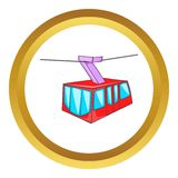 Istanbul tram vector icon Royalty Free Stock Photo