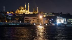 Istanbul. travel, , turkey, europe, landmark, ottoman, turkish, historic, ancient, architecture, famous, tower, city stock video footage