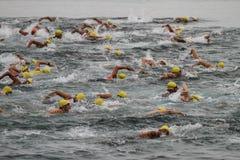Istanbul Triathlon 2016 Royalty Free Stock Photos