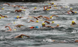 Istanbul Triathlon 2016 Stock Photo
