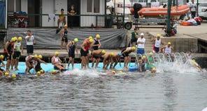 Istanbul Triathlon 2016 Royalty Free Stock Image