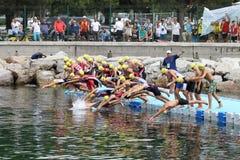 Istanbul Triathlon 2016 Royalty Free Stock Images