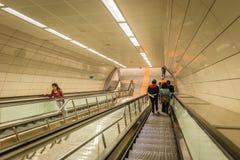 Istanbul tunnelbana i Turkiet Royaltyfri Fotografi