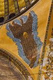 Interior Hagia Sophia, Aya Sofya Christian Icon royalty free stock photos