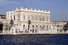 Istanbul, Turkey. Istanbul the capital of Turkey, old sultan's palace Royalty Free Stock Images