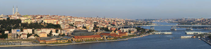 Istanbul Turkey. Very detailed view of beautiful landscape Royalty Free Stock Photo