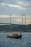 Istanbul, Turkey. View of the Bosphorus in Istanbul, Turkey Stock Photo