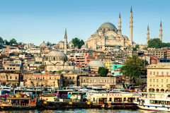 Istanbul, Turkey - April 19, 2016: Istanbul city view Royalty Free Stock Images