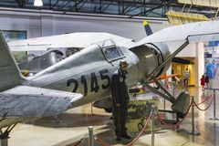 Museum of aviation in Istanbul is represented by a large collection of military civil aircraft and also the history of aviation in. ISTANBUL, TURKEY - 4 APRIL stock photo