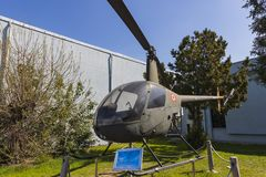 Museum of aviation in Istanbul is represented by a large collection of military civil aircraft and also the history of aviation in. ISTANBUL, TURKEY - 4 APRIL stock image