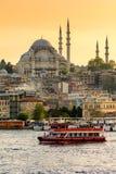 ISTANBUL, TURKEY - April 18, 2016: Rustem Pasha mosque Stock Photography