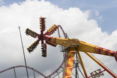 Vialand themed entertainment amusement park Royalty Free Stock Images