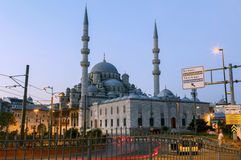 ISTANBUL, TURKEY - AUGUST 24,2015:Yeni Cami ( New Mosque ). Stock Photos