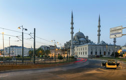 ISTANBUL, TURKEY - AUGUST 24,2015:Yeni Cami ( New Mosque ). Stock Photography