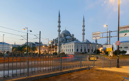 ISTANBUL, TURKEY - AUGUST 24,2015:Yeni Cami ( New Mosque ) in th Royalty Free Stock Photography