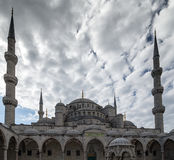 Istanbul Turkey Blue mosque Royalty Free Stock Image