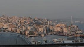 Istanbul Turkey city,. Istanbul, Turkey, architecture, building landmark travel turkish asia city stock video