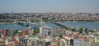Istanbul Turkey Cityscape Royalty Free Stock Image