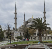 ISTANBUL, TURKEY - DECEMBER 13, 2015: The Blue Mosque Royalty Free Stock Images