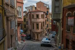 The wonderful districts of Fener and Balat, Istanbul stock photography