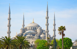Istanbul, Turkey. Famous Blue mosque in Istanbul, Turkey stock photo