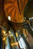 ISTANBUL, TURKEY: Hagia Sophia interior. Hagia Sophia is the greatest monument of Byzantine Culture.  royalty free stock photos