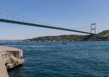 The bridges of Istanbul. Turkey stock images