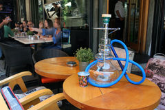 Istanbul, Turkey. Hookah Cafe At The Street Stock Image