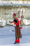 Istanbul, Turkey. Jagger drink in national dress Stock Images