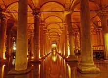 ISTANBUL, TURKEY - JANUARY 23: Basilica Cistern ( Stock Photography