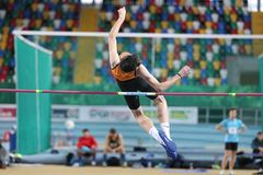 Turkcell Turkish U20 Indoor Athletics Championships Royalty Free Stock Photos
