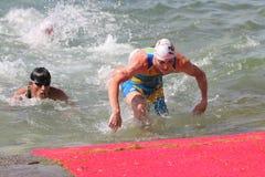 Istanbul Beylikduzu ETU Triathlon European Cup 2017 Stock Images