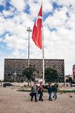 Ataturk Cultural Center inTaksim stock photography
