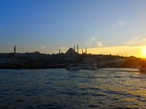Istanbul, Turkey-March 30, 2018: The beauty of the Blue Mosque i royalty free stock images